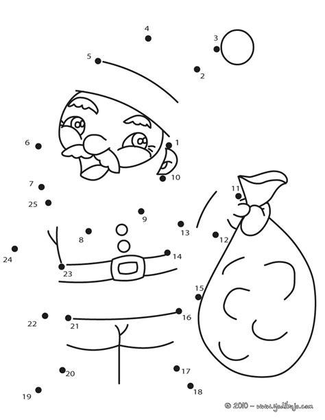 Dibujos De Navidad Para Colorear Y Unir Puntos | dibujos navide 241 os para unir puntos