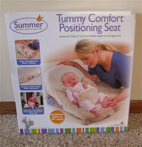 Summer Infant Tummy Comfort Positioning Seat Review Giveaway