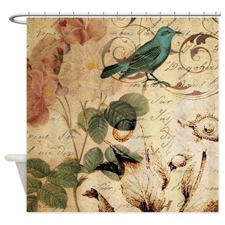 1000 ideas about bird shower curtain on