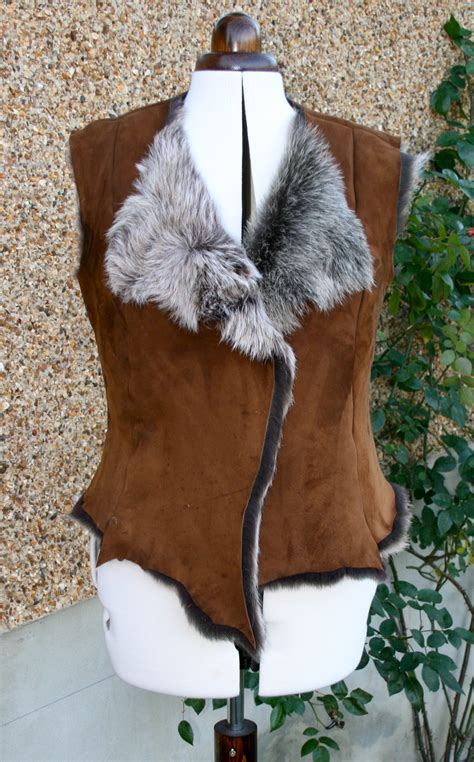 sewing pattern gilet shearling gilet sewing projects burdastyle com