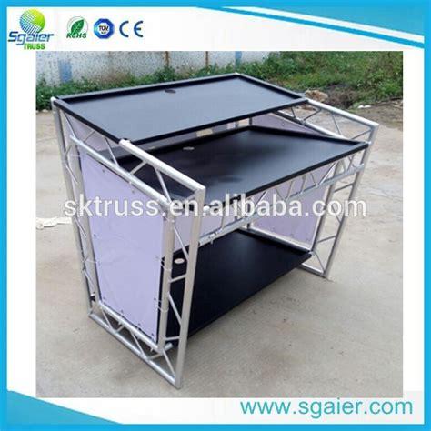 mobile per consolle dj buon mercato mobile tavolo in alluminio per consolle dj