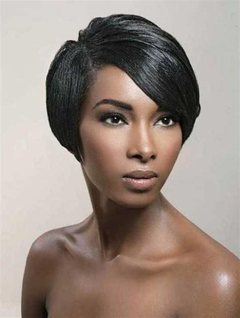 15 collection of short hairstyles for black women with fat 15 best collection of short black bob hairstyles