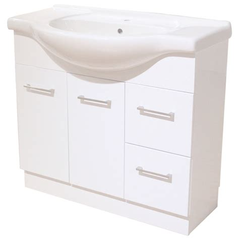 Bathroom Vanity 900mm Estilo 900mm Bathroom Vanity With Semi Recessed 1th Basin
