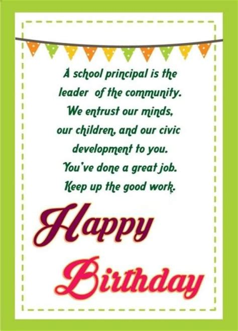 beautiful birthday cards  wishes  principal