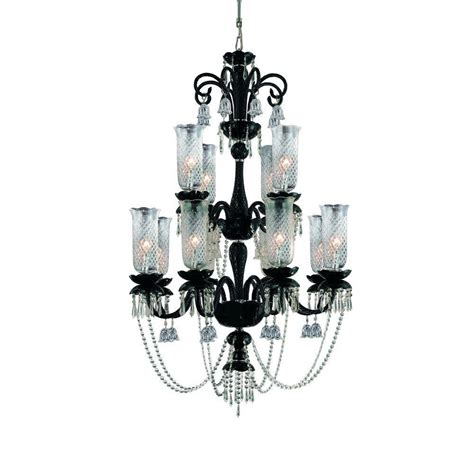 Black Hanging Chandelier Hton Bay Essex 5 Light Aged Black Chandelier 14707