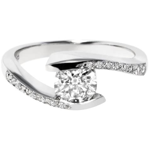 Tension Set Engagement Rings by 1000 Images About Tension Setting Engagement Rings On