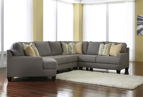 Sectional Sofa Cls Chamberly Alloy 4 Pc Raf Loveseat Sectional 24302 34 56 76 77 Sectionals Cls Factory Direct