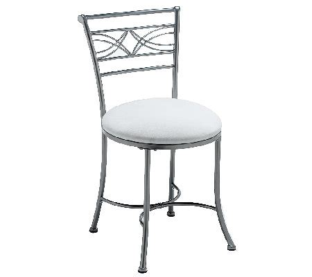Hillsdale Dutton Vanity Stool by Hillsdale Furniture Dutton Vanity Stool H282961 Qvc