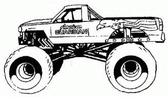 Wheels Truck Coloring Pages Free Coloring Pages Of Monstertruck
