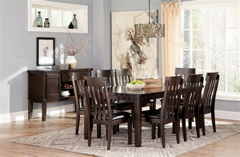 informal dining room signature design by ashley haddigan casual dining room