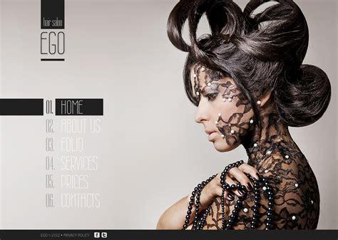 Fab Flash Stylist The Interpreters Of Fashion Launch by Hair Salon Flash Cms Template 41782
