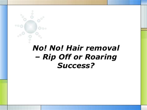 wikipedia no no hair removal no no hair removal complaint board hairstylegalleries com