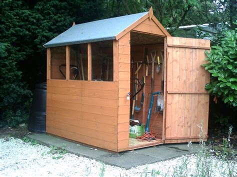 Shed Lincoln by How To Build A Shed Base Garden Buildings Direct