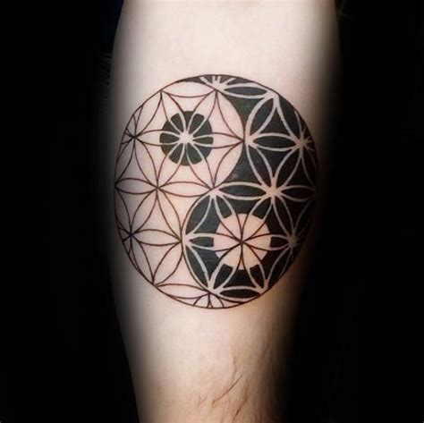 flower of life tattoo 100 flower of designs for geometrical