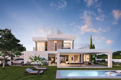 new modern villa project estepona estepona living
