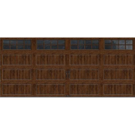 16 X 7 Insulated Garage Door by Clopay Gallery Collection 16 Ft X 7 Ft 6 5 R Value