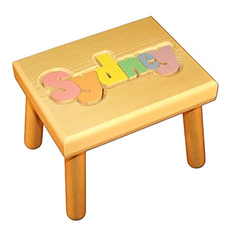 Personalized Puzzle Stools For Toddlers by Personalized Step Stools For Toddlers Thesteppingstool