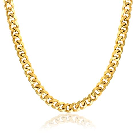 bling jewelry mens steel curb cuban wide link chain
