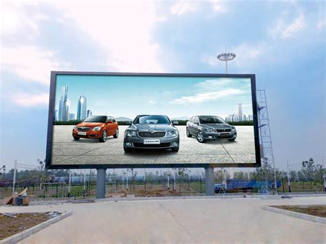 outdoor le outdoor led display market by technology color display