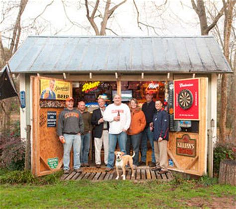 Backyard Cave Plans by 8 Sheds Turned Into Awesome Mancaves
