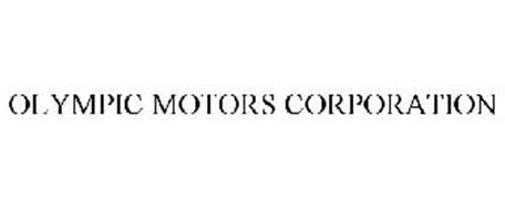 olympic motors olympic motors corporation trademark of tom glen serial