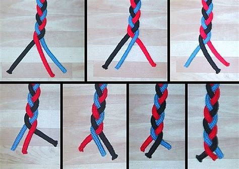 three strand braid or plait one how to tie knots adventist youth honors answer book arts and crafts