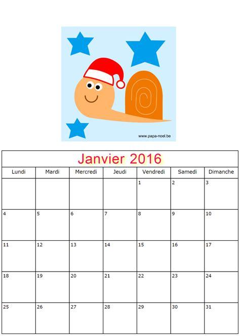 Calendrier Imprimer Gratuit 2016 Calendriers De Janvier 2016 224 Imprimer Gratuitement