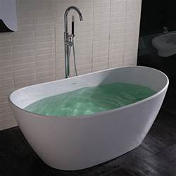 adm free standing resin bathtub