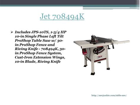 jet table saw review jet 708494k table saw reviews