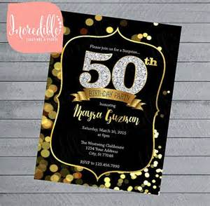 free printable 50th birthday invitations templates sle invitation template premium and free