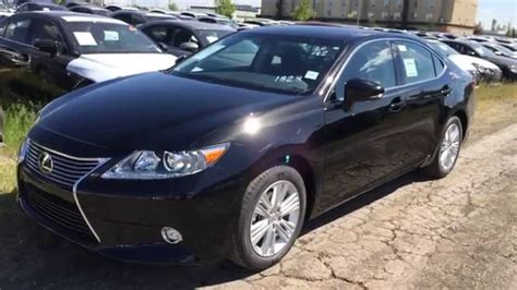 black lexus 2015 2015 black lexus es 350 4dr sdn touring package downtown