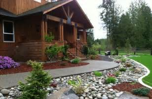 front yard rock landscaping ideas for making your home