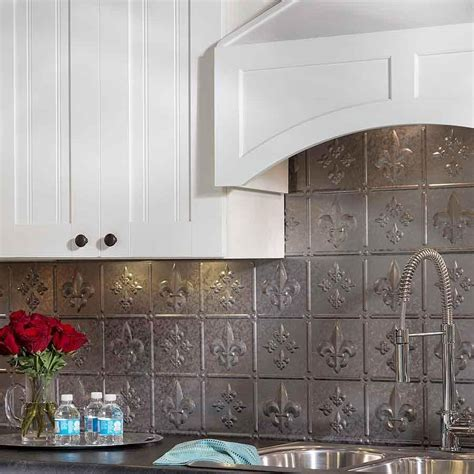 tin backsplash tiles awesome cabinet hardware room tin