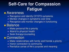 Compassionate Connected Care Framework Caregiver Compassion Fatigue