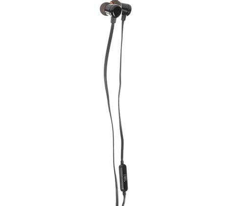 Earphone Jbl T290 Black buy jbl t290 headphones black free delivery currys