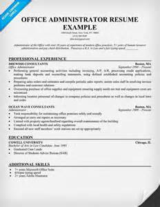 office administrator free resume building the best you