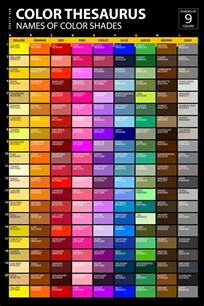 colors and names list of colors with color names graf1x