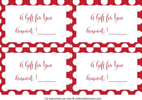 printable christmas gift cards free free printable gift card envelopes yellow bliss road