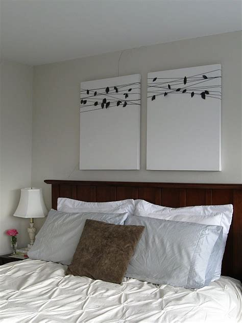 bedroom canvas art 15 easy diy wall art ideas you ll fall in love with