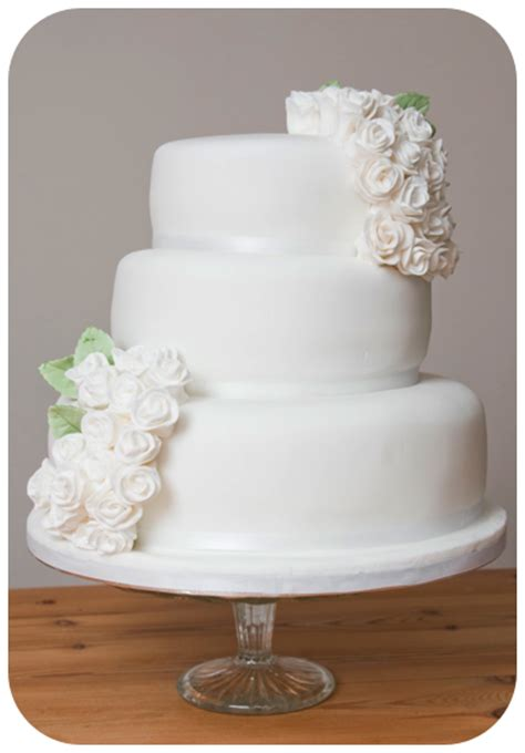 Simple But 3 Tier Wedding Cake For And Cakechannel World Of Cakes Three Tier Simple White