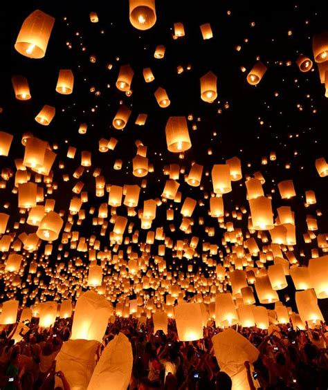 rise lantern festival lights up the las vegas sky for the