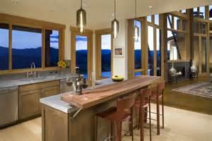 Design ideas for kitchen islands with seating doorways magazine