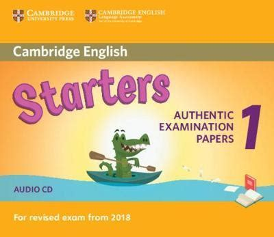cambridge english starters 1 for revised exam from 2018 audio cd 9781316635971