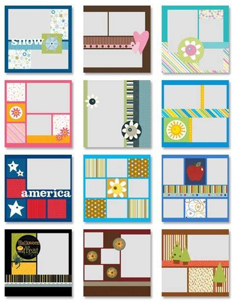 7 Great Scrapbooking by Simple Scrapbooking Ideas Would Make Great Calendar Pages