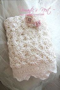 shabby chic crochet blanket google search crochet