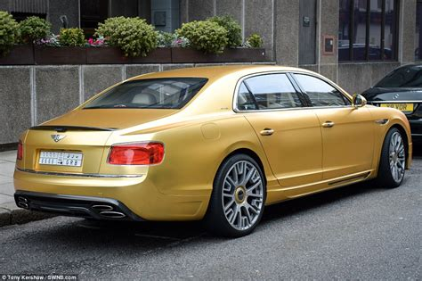 bentley car gold saudi arabian flies fleet of gold supercars to
