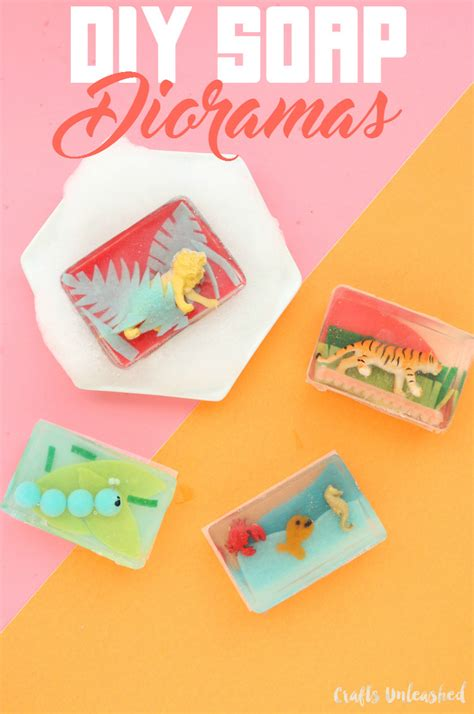 diy and crafts blogs diy soap dioramas how to make your own consumer crafts
