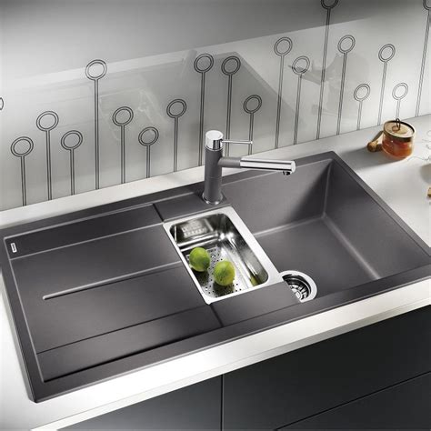 Sinks And Taps Blanco Metra 6 S A La Carte Silgranit Sink And Tap Pack