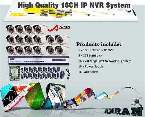 Paket Cctv Ip 2mp Nvr 16 Channel Hd Komplit Tinggal Pasang 2mp 1080p hd sony cmos sensor 16 channel nvr record motion detection onvif 2 0 security