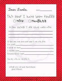 Below are several free printable dear santa letter templates
